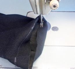 подшить женские брюки